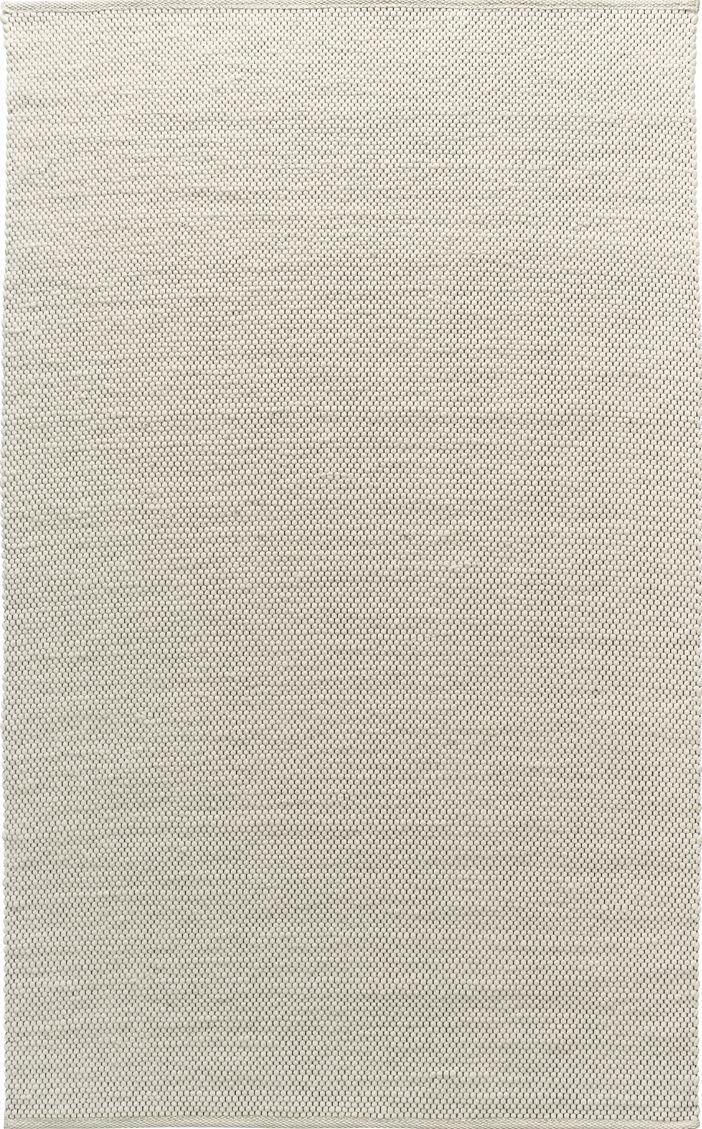 Wollteppich Kara Weiß