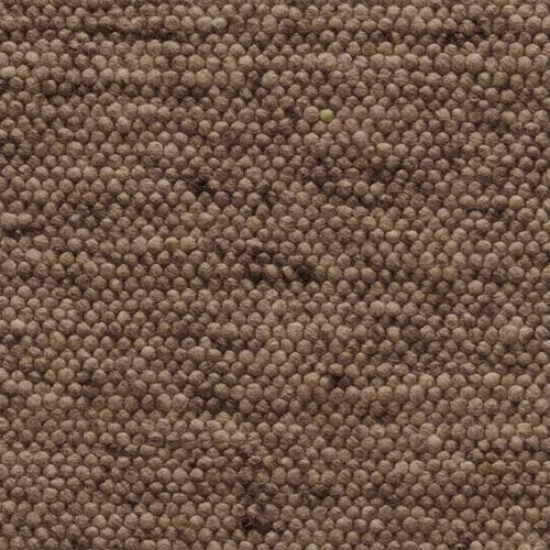 Wollteppich Alta Braun